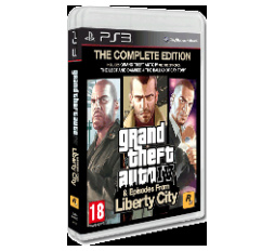Slika izdelka: Grand Theft Auto IV & Episodes From Liberty City: The Complete Edition (playstation 3)